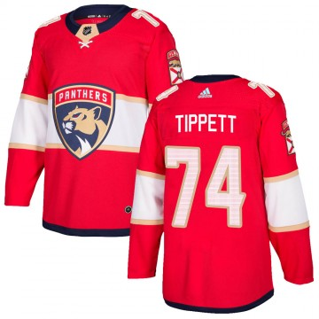 Authentic Adidas Youth Owen Tippett Florida Panthers Home Jersey - Red